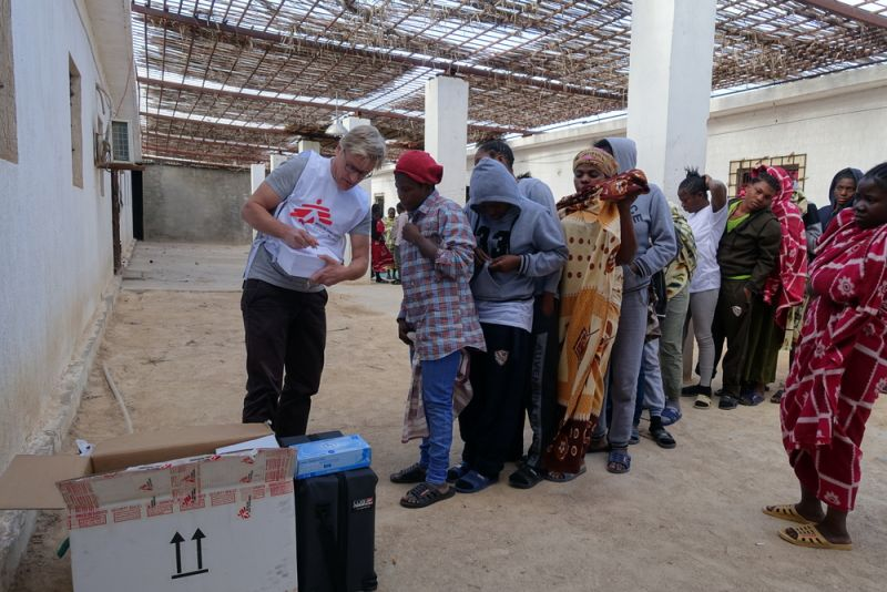 MSF, Doctors Without Borders, Libya