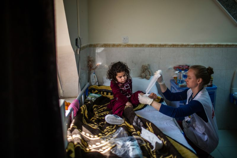 MSF, Doctors Without Borders, Iraq Crisis update