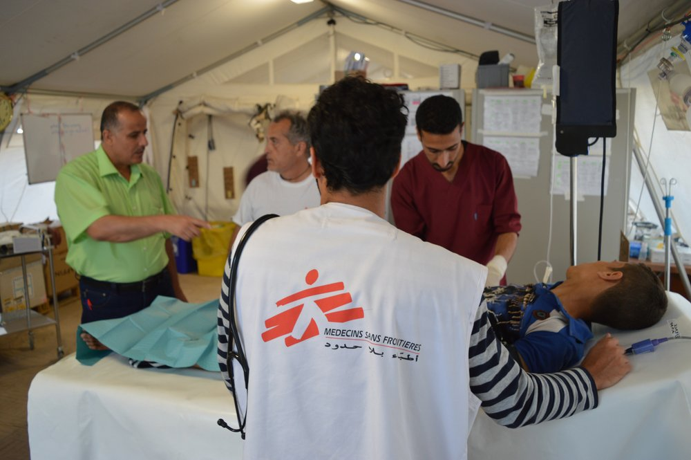 MSF, Doctors Without Borders, Iraq, Crisis update