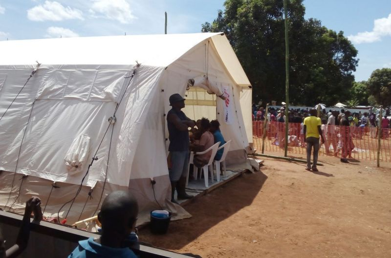 MSF, Doctors Without Borders, DRC refugees in Angola