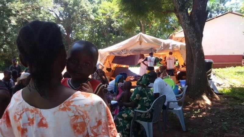 MSF, Doctors Without Borders, CAR, Conflict in Bangassou