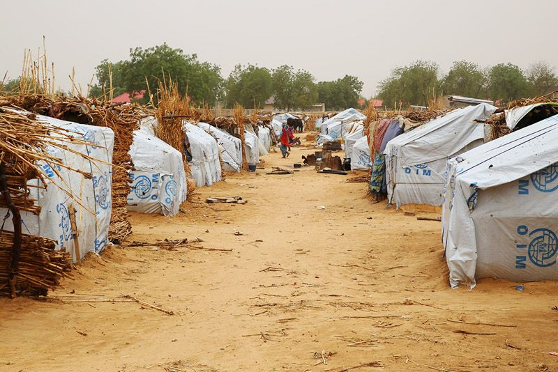 Nigeria, Displaced people