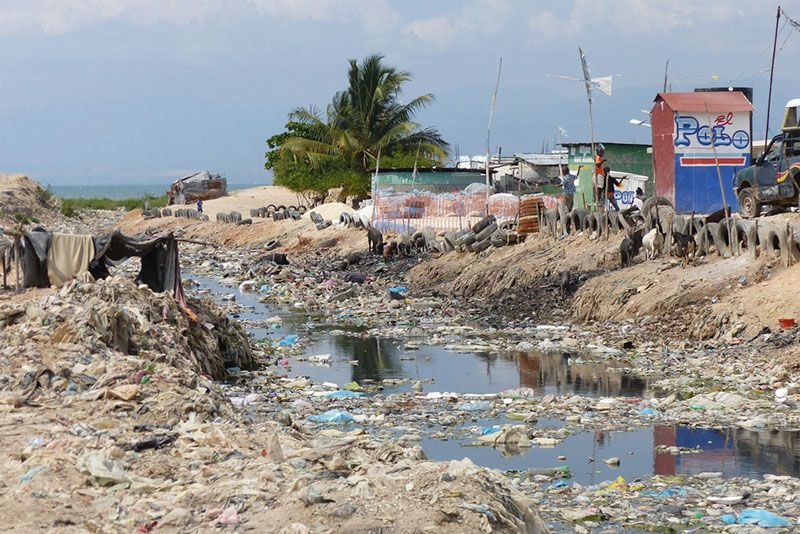 Haiti, Cholera, Sanitation