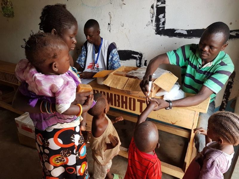 Vaccination remains a priority for MSF in Central African Republic