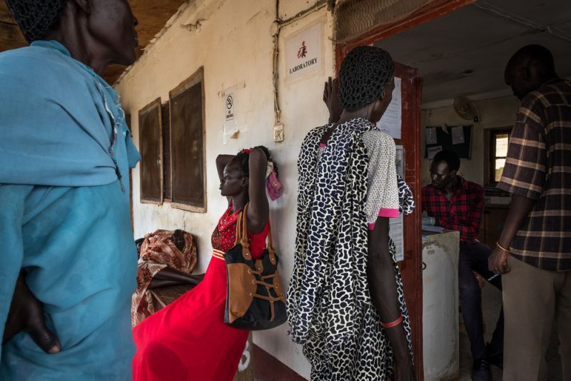 South Sudan, MSF maternity hospital