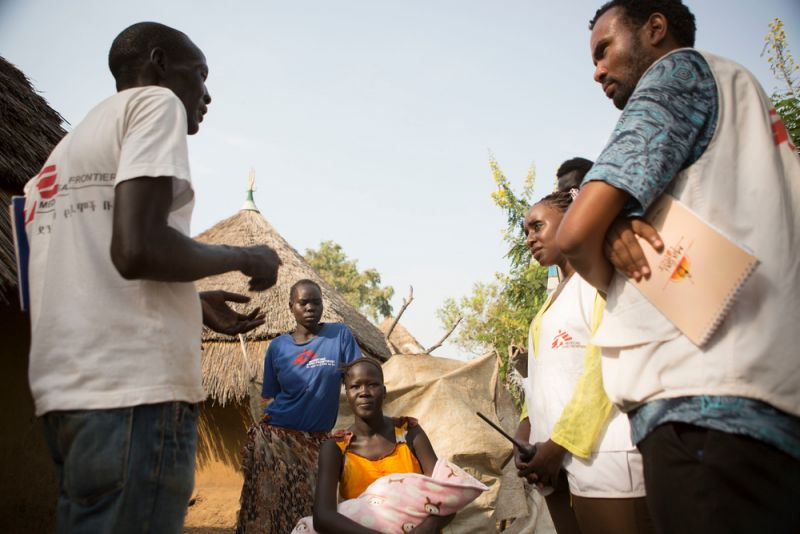 MSF, South Sudan, Ethiopia, Refugees