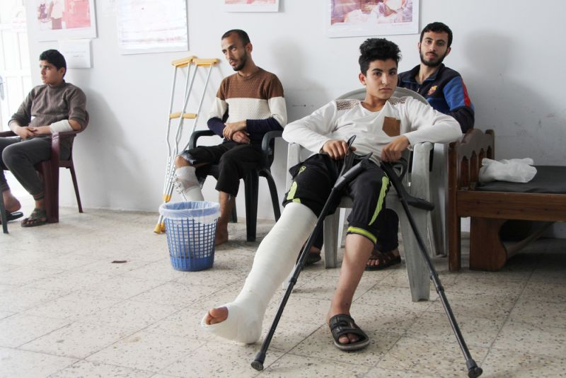 MSf, Doctors Without Borders, Palestine, Gaza