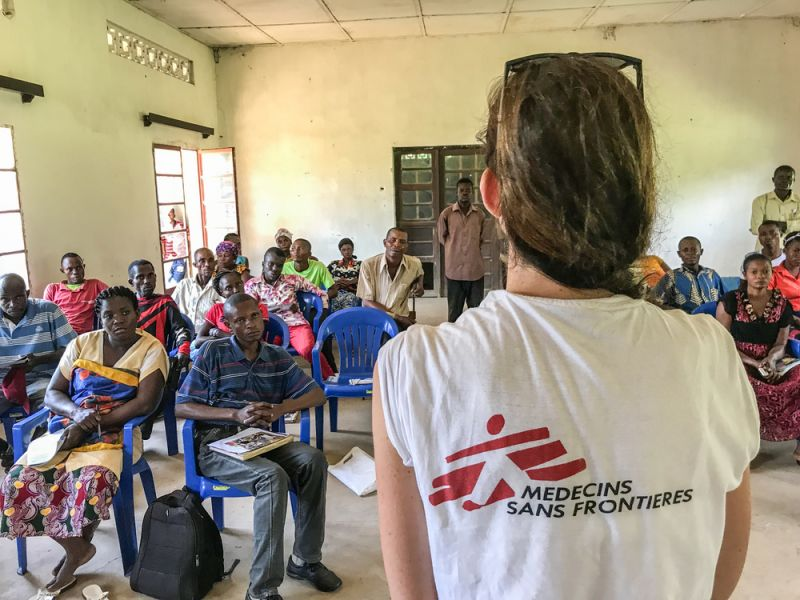 MSF, Doctors Without Borders, DRC, Ebola, outbreak