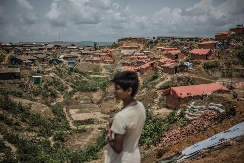 MSF, Doctors Without Borders, Bangladesh, Rohingya refugees, one year on