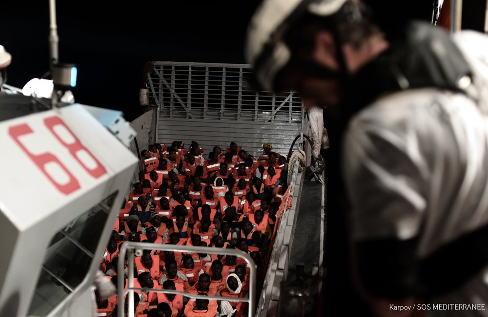 MSF, Doctors Without Borders, Med Sea