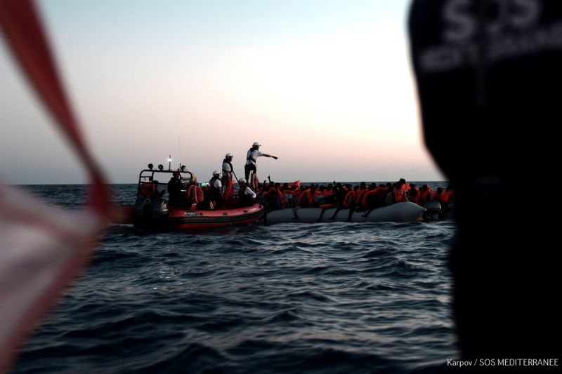 MSF, Doctors without Borders, Med sea, diplomatic standoff
