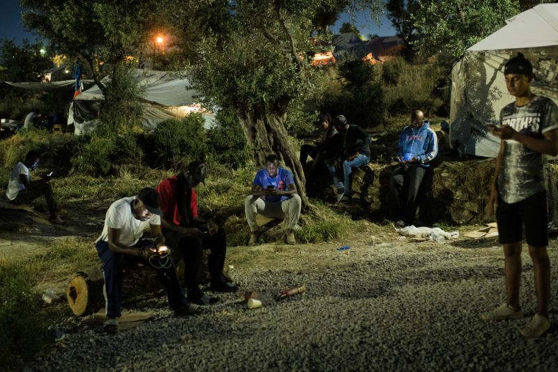 MSF, Doctors Without Borders, Refugees, Trapped in Moria