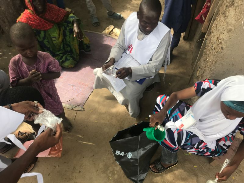 MSF, Doctors Without Borders, Nigeria, Malaria