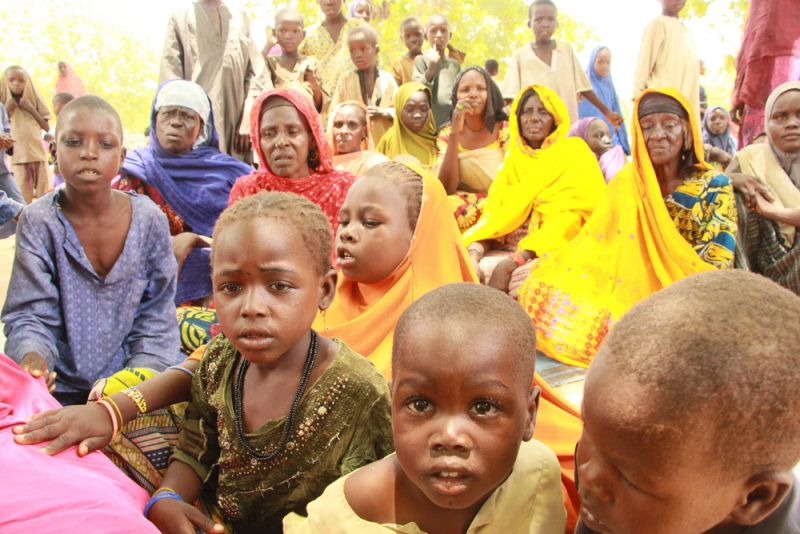 MSF, Doctors Without Borders, Nigeria, Borno Sate, Bama, Malnutrition