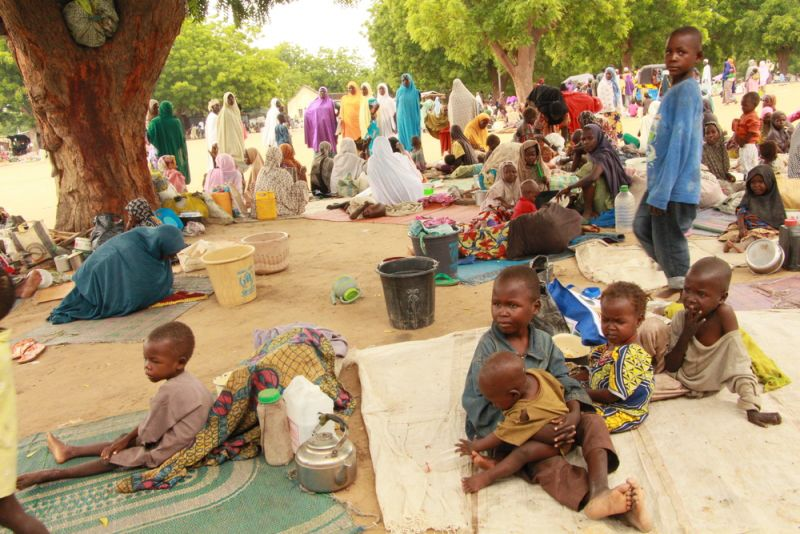 MSF, Doctors Without Borders, Nigeria, Borno State, Bama