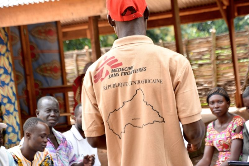 MSF, Central African Republic, Bambari