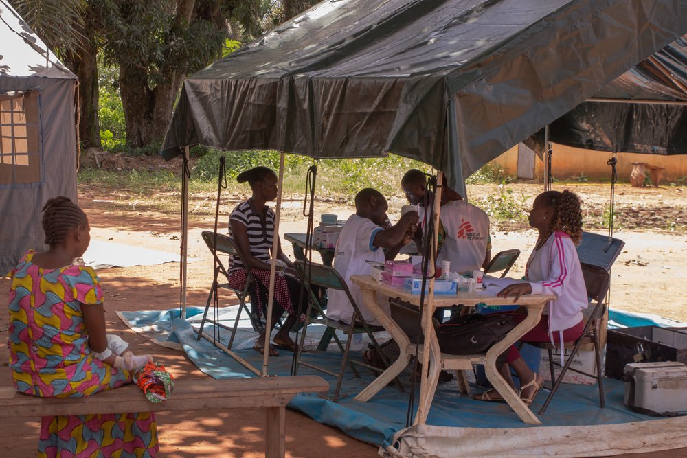 MSF, Doctors Without Borders, South Sudan, demobilisation of child soldiers