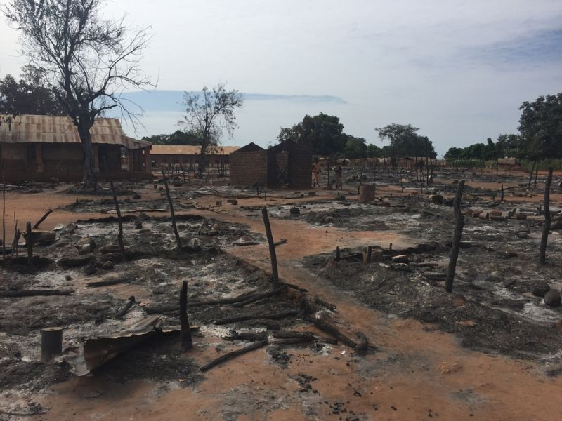 MSF, Doctors Without Borders, Central African Republic, Violence in Batangafo