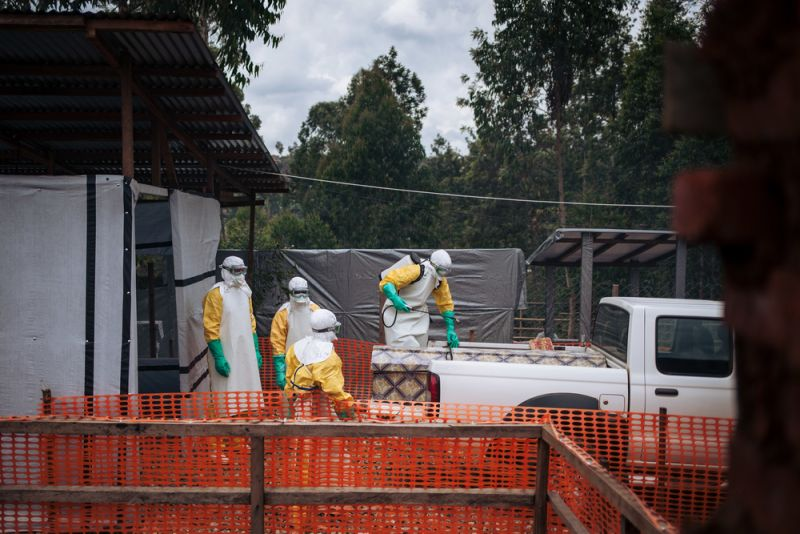 MSF, Doctors Without Borders, Ebola, Treatment Centre Attack