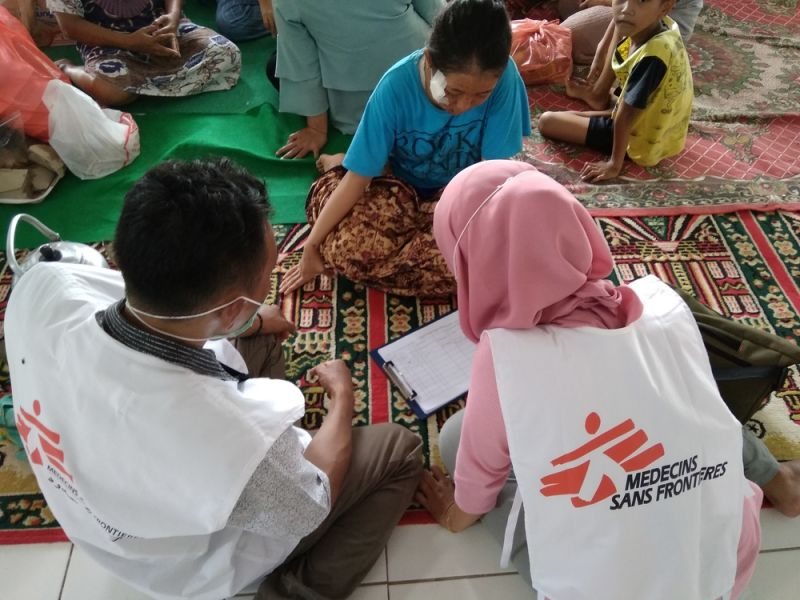 MSF, Doctors Without Borders, Indonesia, Tsunami
