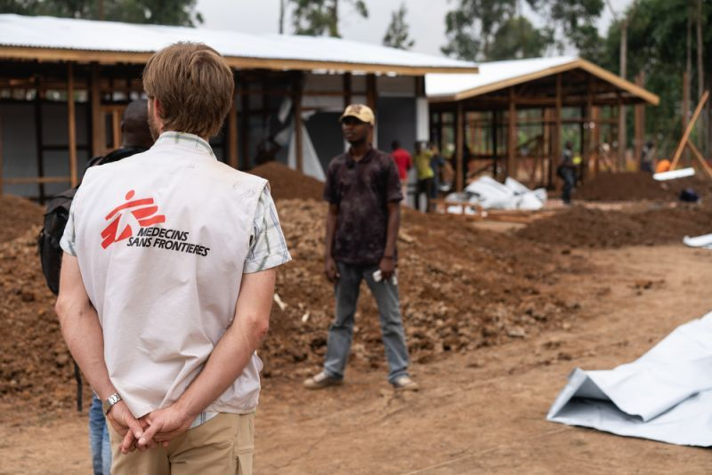 MSF struggling to gain control of the outbreak: Ebola epidemic
