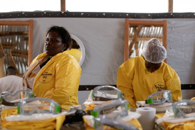 Ebola epidemic in north-eastern DRC
