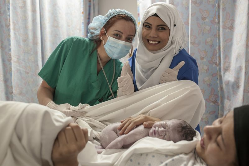 MSF, Doctors Without Borders, Lebanon, International Day of Midwives