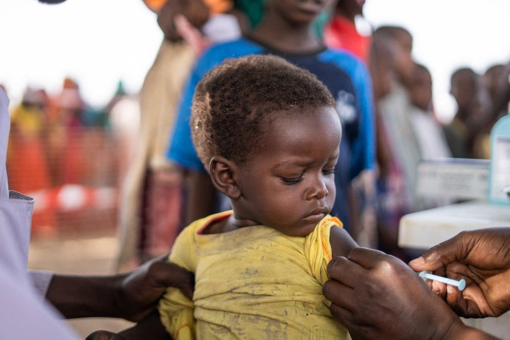 MSF, Doctors Without Borders, Chad, Measles outbreak