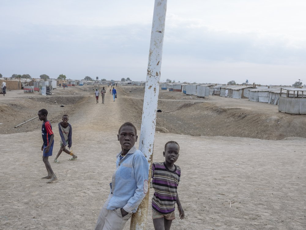 MSF, Doctors Without Borders, South Sudan, Protection of Civilians site in Bentiu