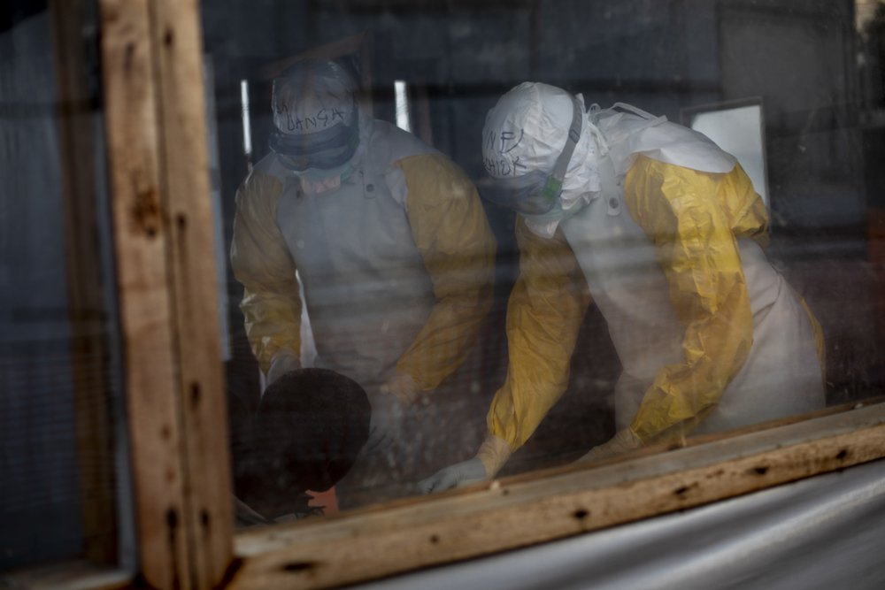 MSF, Doctors Without Borders, Ebola, DRC, public, health emergency
