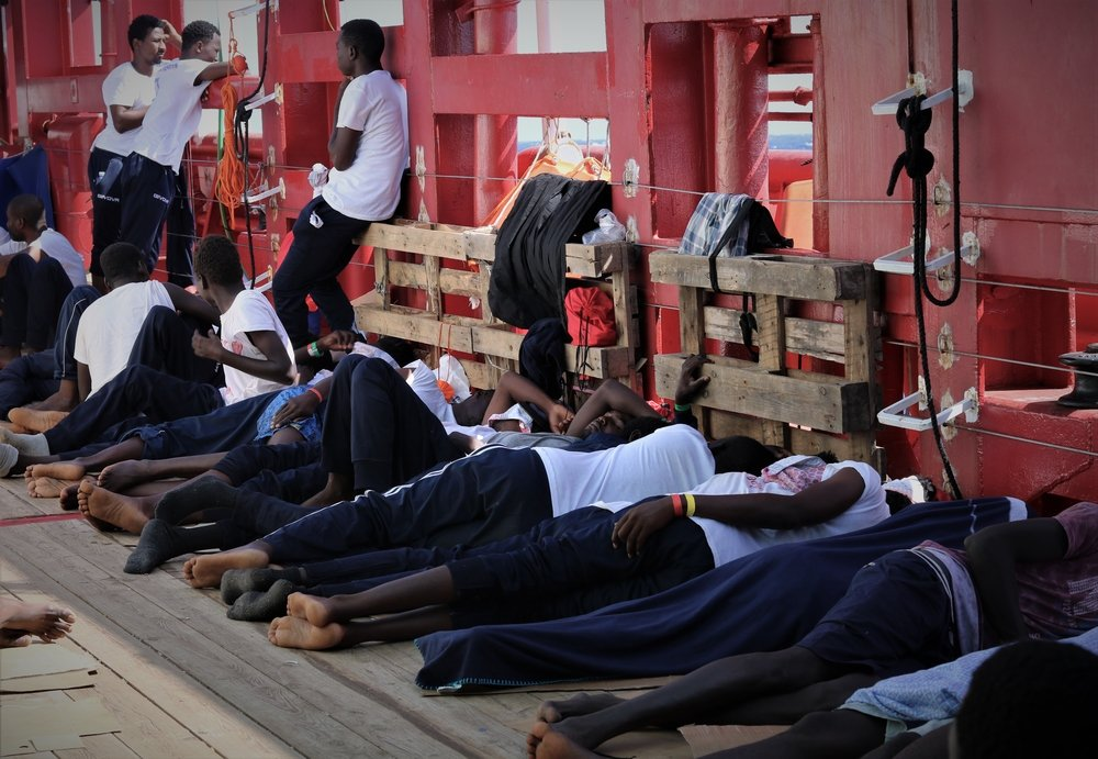 MSF, Doctors Without Borders, Libya, Med sea, SAR