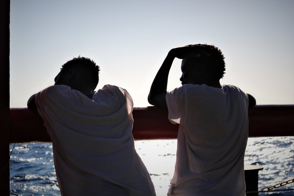 MSF, Doctors Without Borders, Med Sea, SAR, Libya