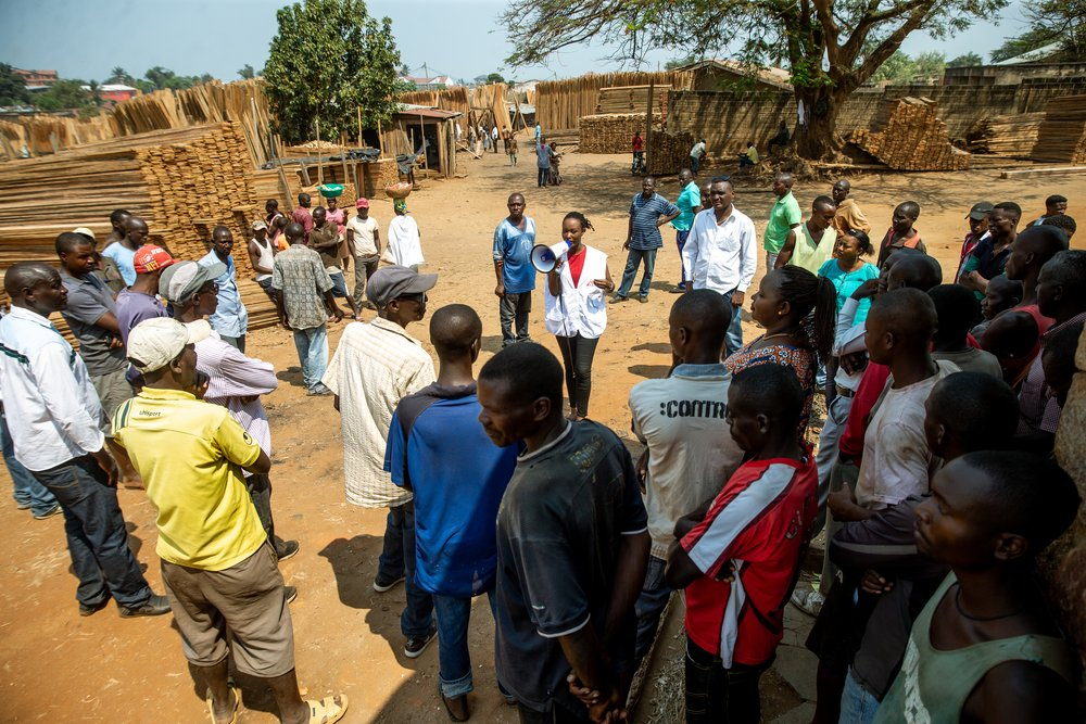 MSF, Doctors Without Borders, Burundi, Trauma centre