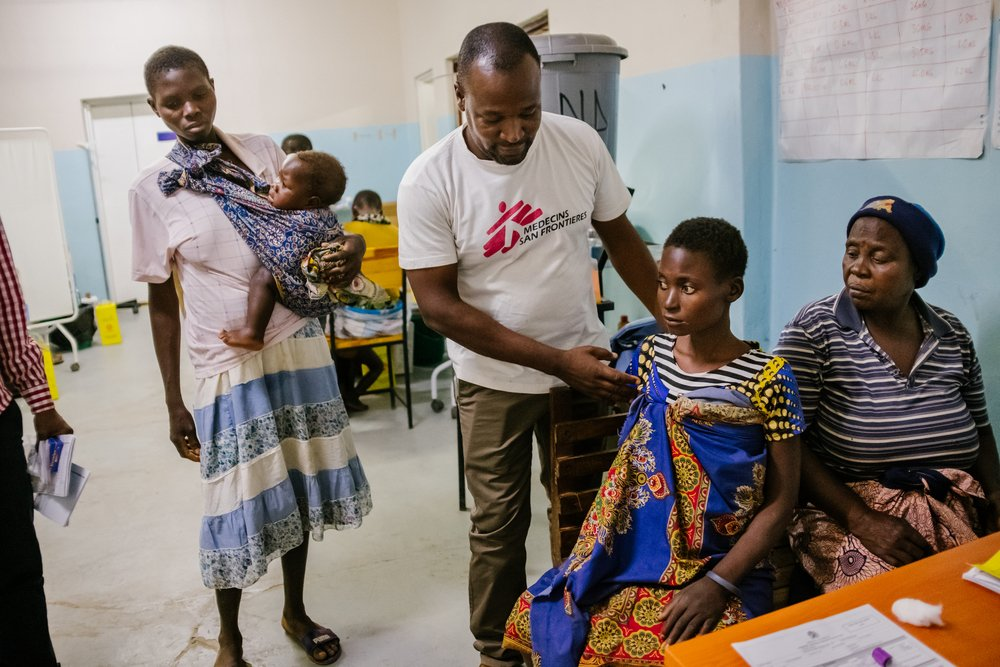 MSF, Doctors Without Borders, HIV, Aids, dashboard report