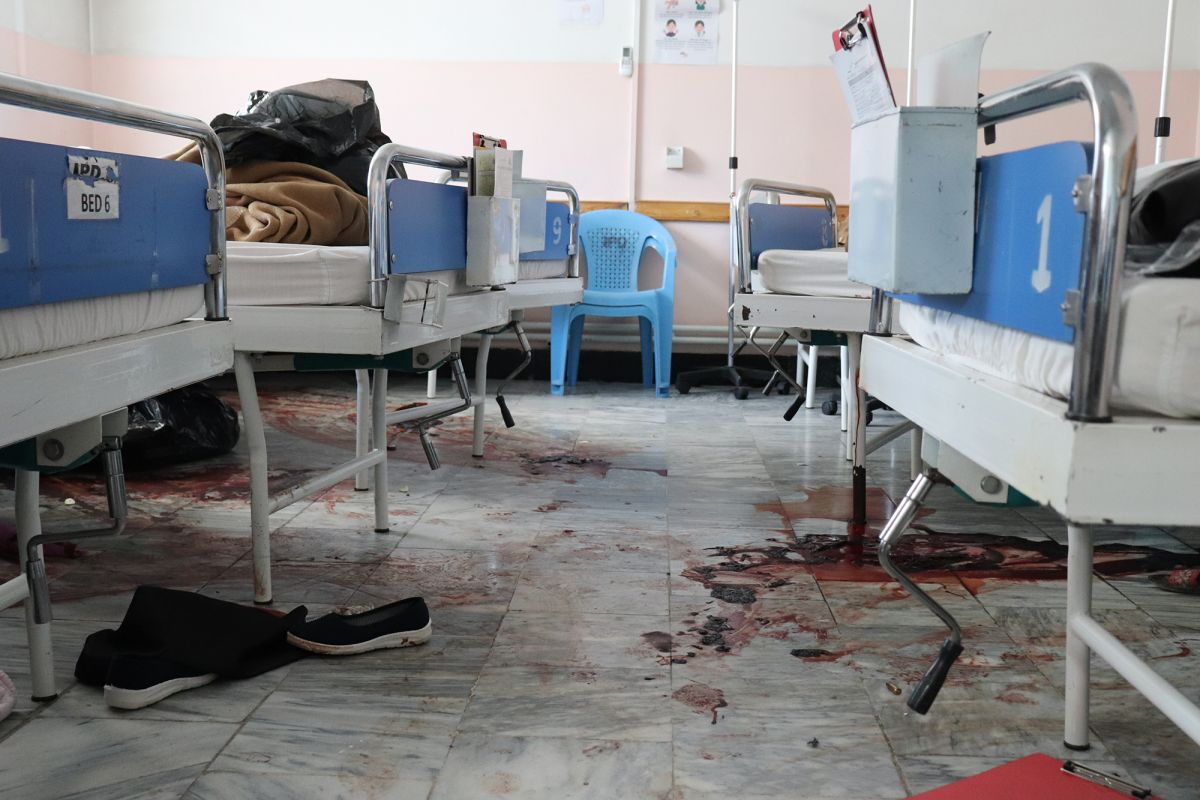 MSF, Doctors Without Borders, Afghanistan, Attack, on, maternity hospital