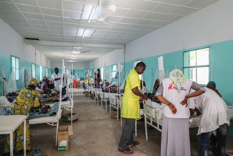 Magaria Paediatric Unit, malaria, malnutrition