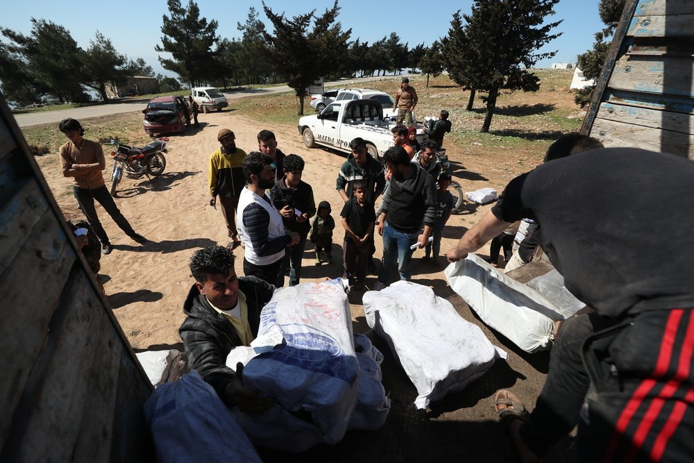 MSF, Doctors Without Borders, Northwest Syria, displacement