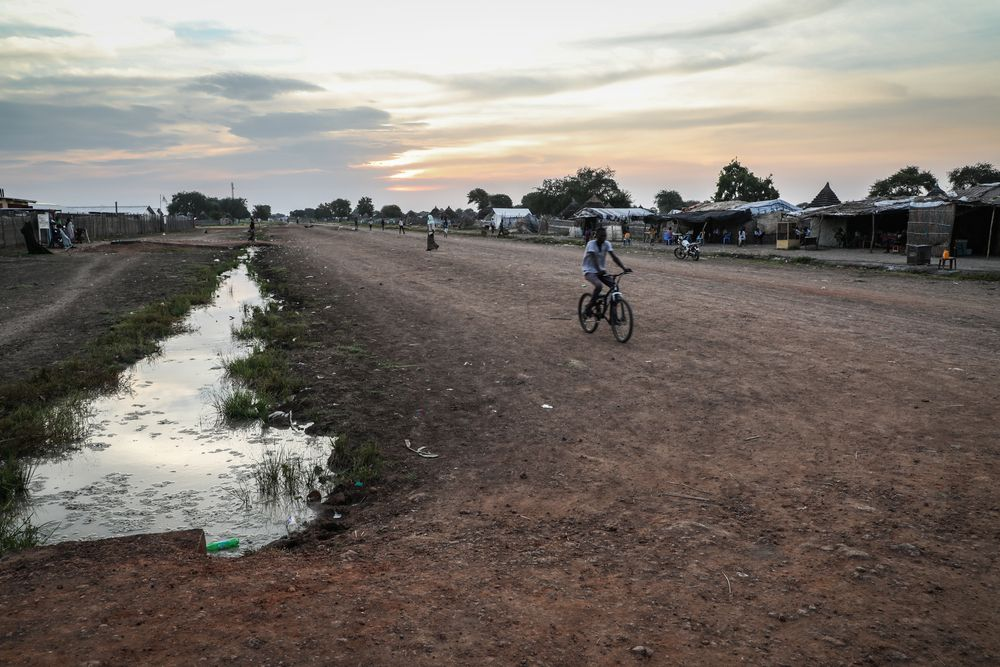 Route to Doctors WIthout Borders hospital in South Sudan
