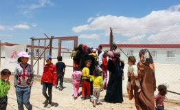 Syrian Refugees in Zaatari camp