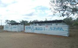 A picture of the 25 de Junho Camp in Cabo Delgado, Mozambique