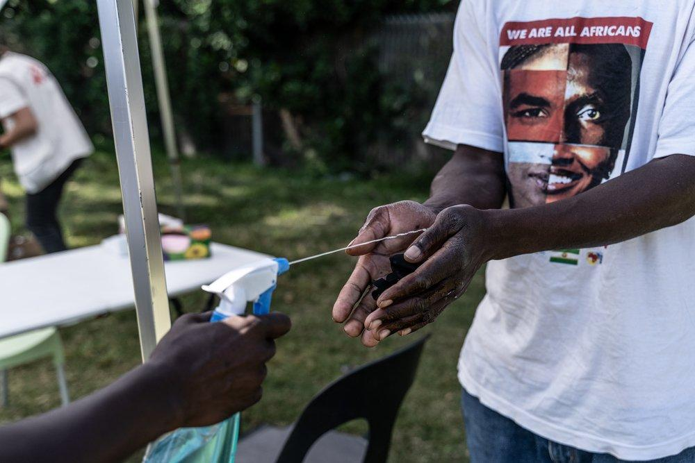 MSF, Doctors Without Borders, Coronavirus, COVID-19, South Africa, Johannesburg, Shelther