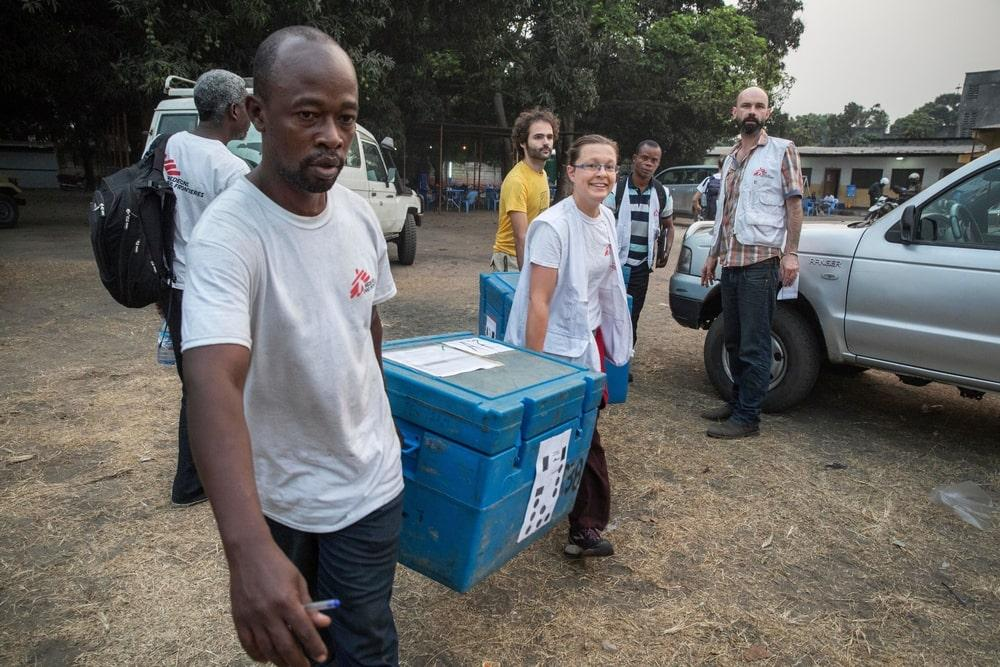 Yellow Fever Vaccinations in Kinshasa