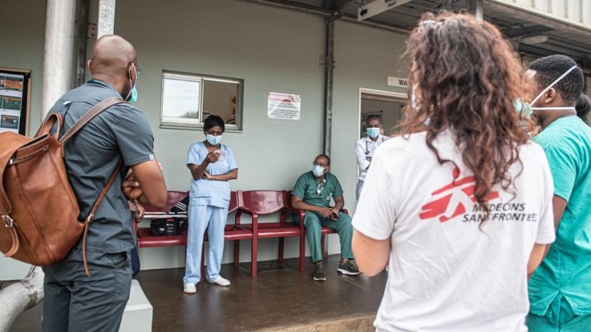 MSF, Doctors Without Borders, COVID-19, second wave, South Africa, third wave